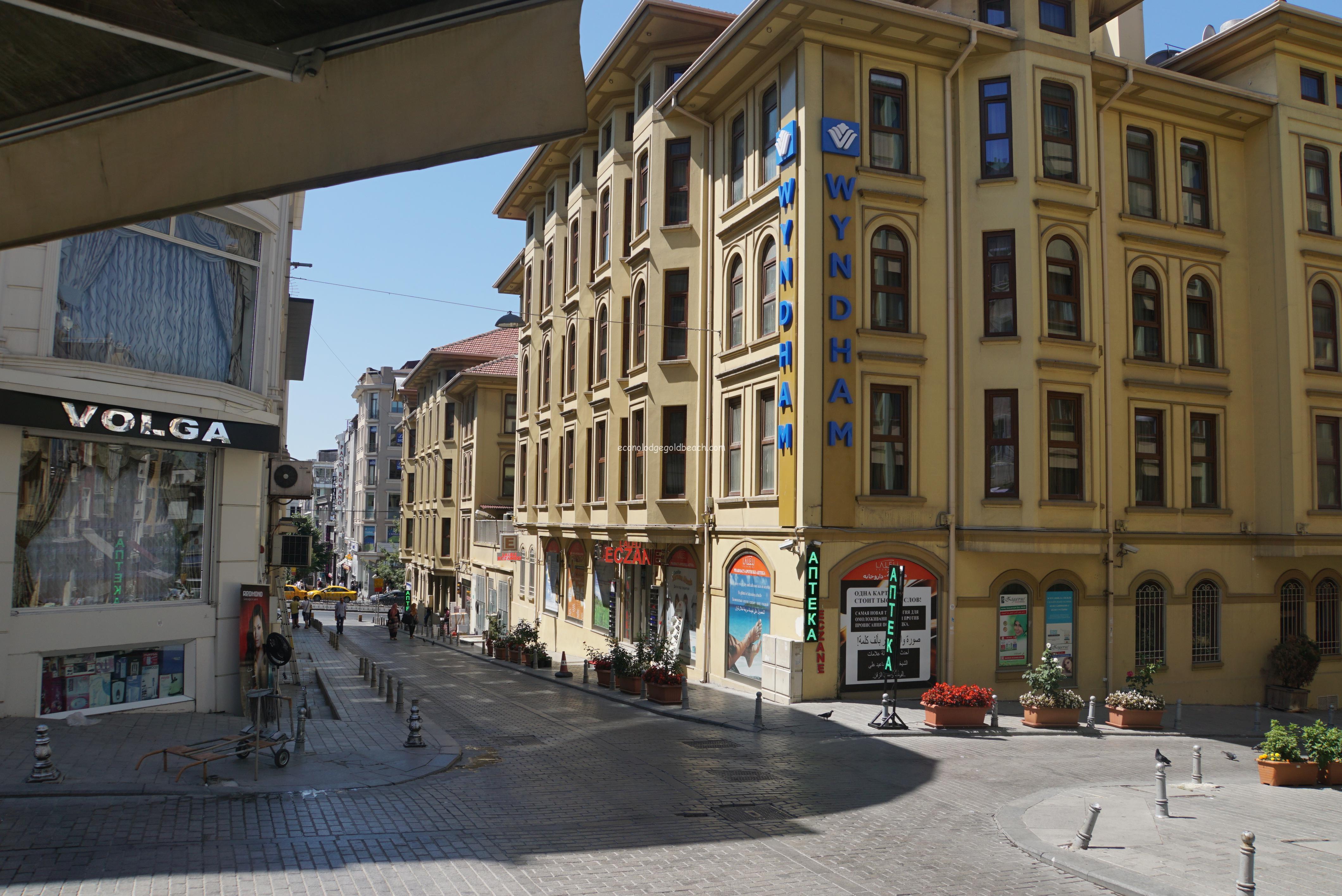 イスタンブールのホテルそば