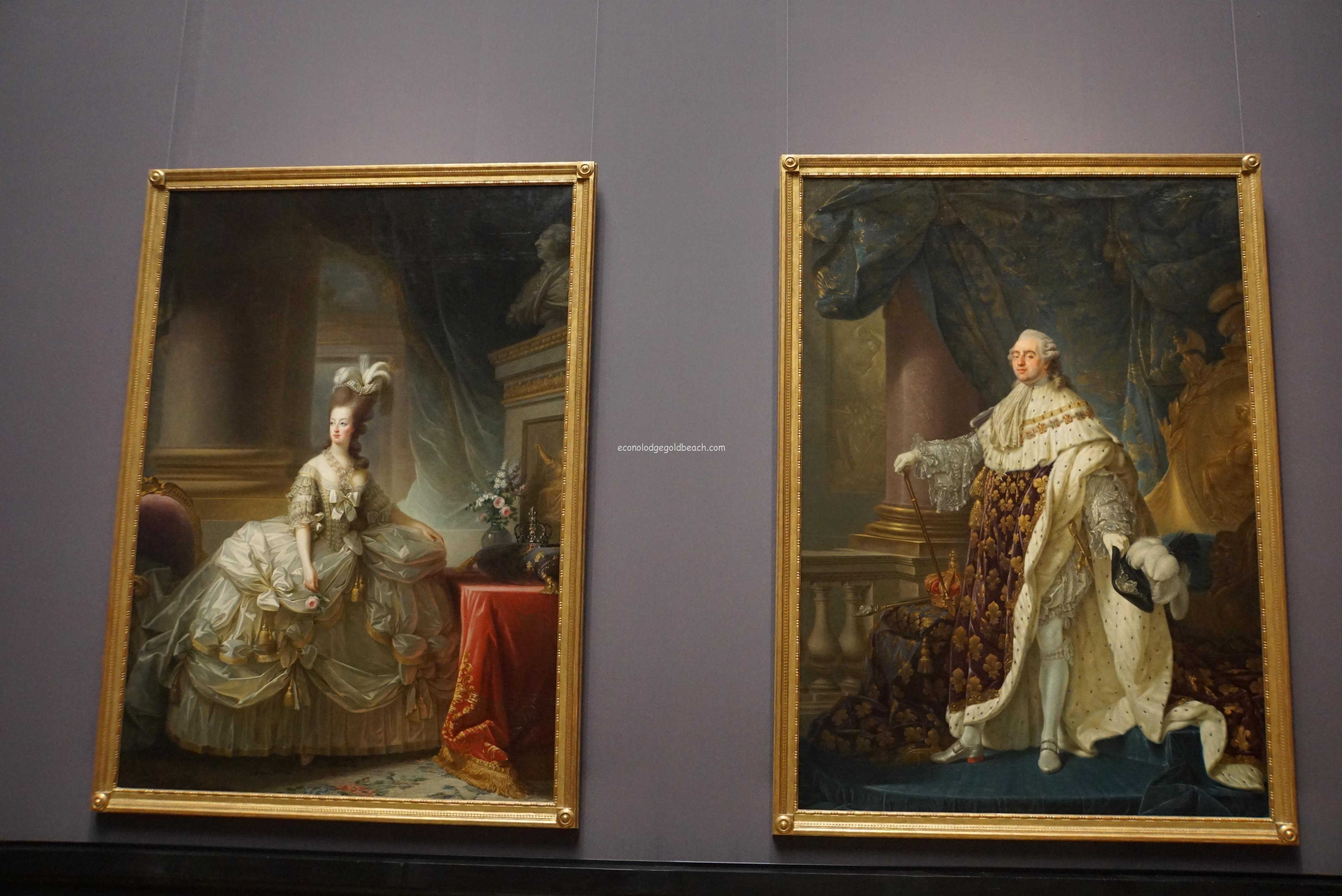 ルイ十六世とマリー・アントワネット