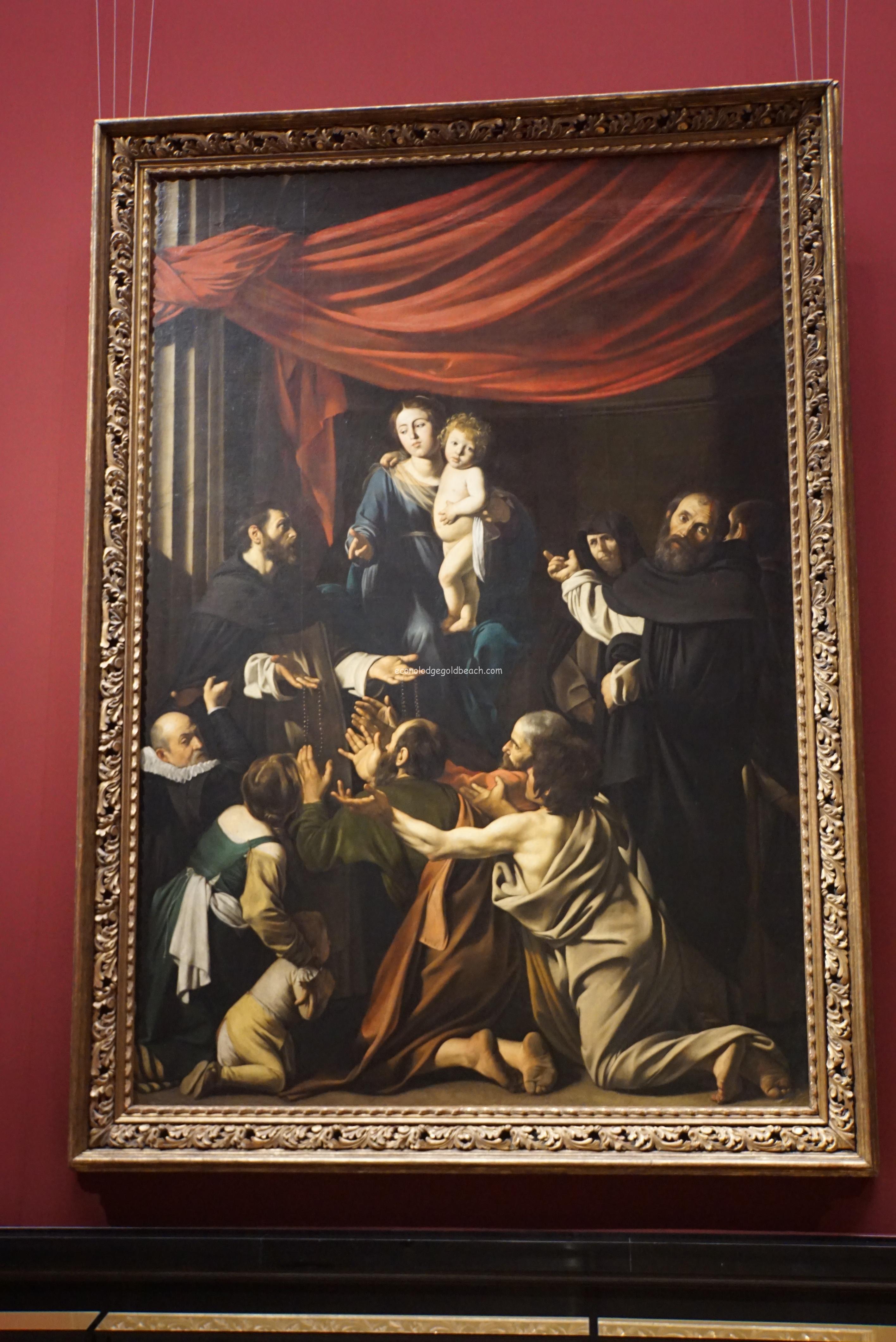 ロザリオの聖母 ミケランジェロ・メリージ