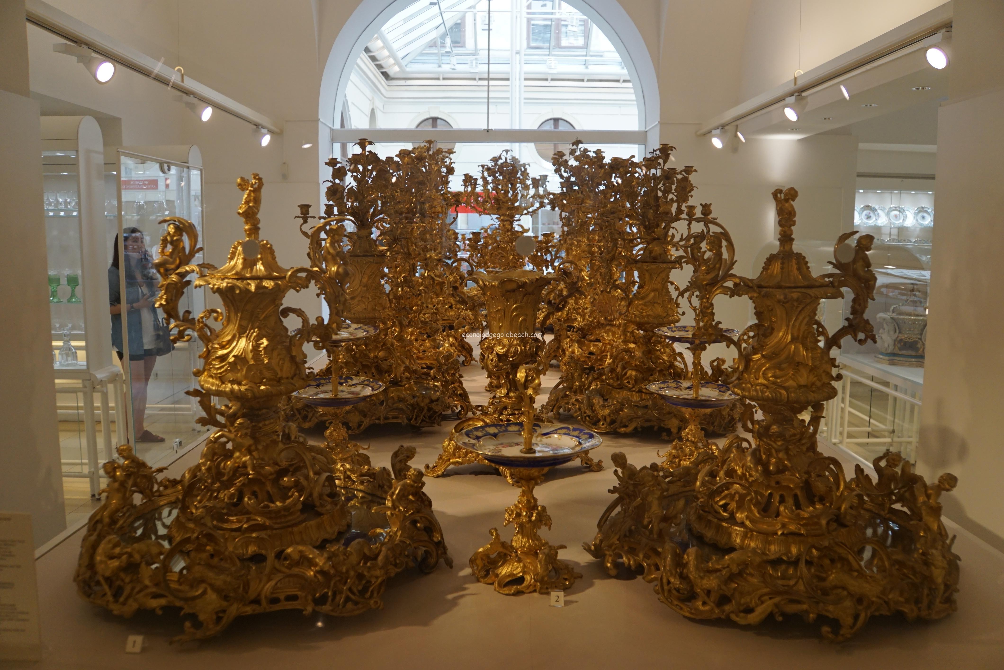 旧王宮 銀器博物館内7
