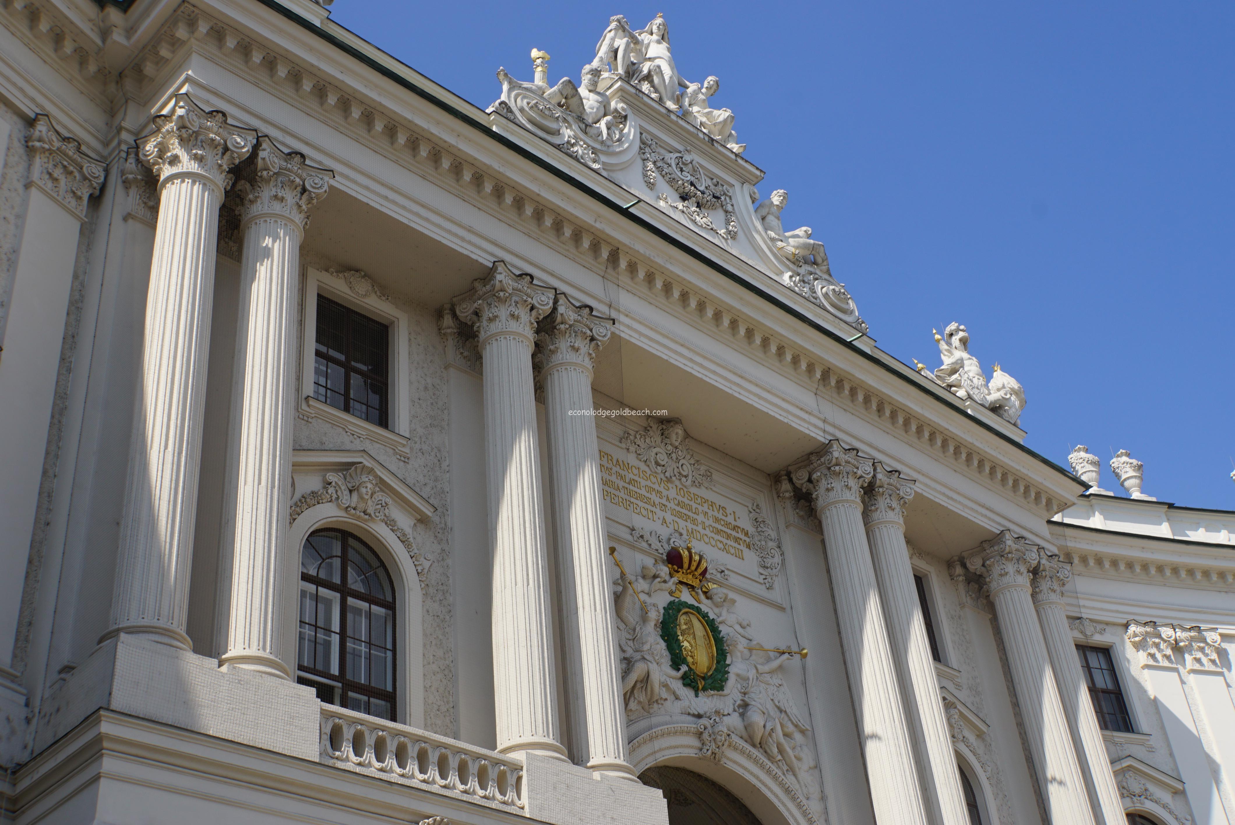 ウィーン旧王宮入り口1