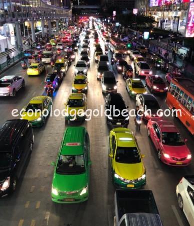 バンコクの街並み1