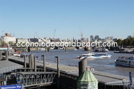 ハンガーフォード橋とゴールデン・ジュビリー橋