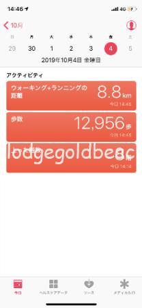 歩いた距離1
