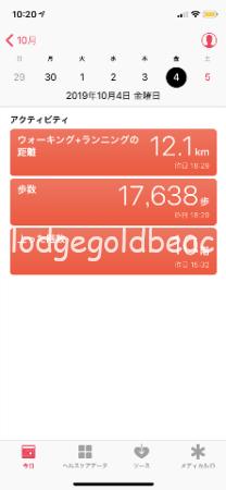 歩いた距離2